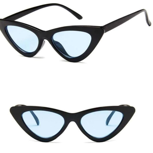 Women's Retro Cat Eye Sunglasses Sunglasses & Glasses Women's Sunglasses Color : Black Green|Red Gray|Black Blue|Black Yellow|Black Purple|White Gray|Black Gray|Trans Blue|Black Pink|Red Silver|White Yellow|White Red|Trans Red|Trans Yellow|Black Red
