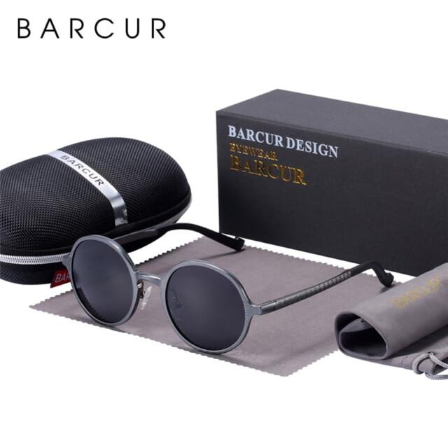 Women's Retro Round Sunglasses Sunglasses & Glasses Women's Sunglasses Lenses Color : Black|Gun|Coffee