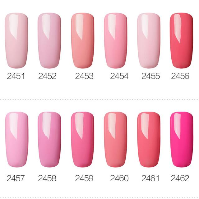 Gel Nail Polish Purple Color Series 7 ml Beauty & Health Nail Gel Nail Tools