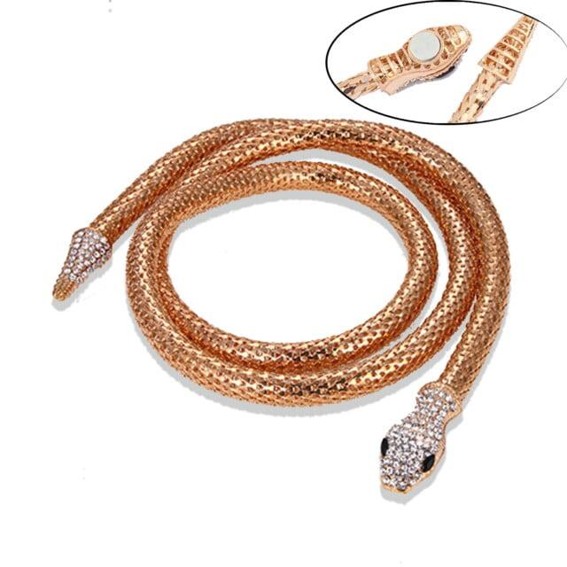 Choker Snake Necklace Goth Women Halloween чокер Collares Aesthetic Animal Jewelry Neck Chain Collier Femme Gargantilla Mujer Necklaces Women's Jewelry